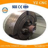 Gran cavidad de husillos de rosca del tubo máquina de torno CNC automática