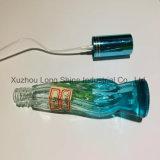 豪華で青い香水のガラスビン20ml