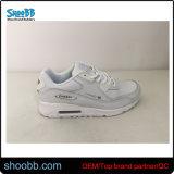 Blanco y negro de piel zapatos deportivos Zapatos para hombres y mujeres