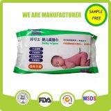 Младенца фабрики высокого качества Wipe профессионального толщиного влажный