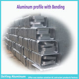Profile di alluminio Extrusion con Bending Metal Processing Anodizing