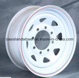 (6Jx15 6Jx16) rotelle del veicolo di trasporto del metallo con il PUNTINO per il pneumatico dell'automobile