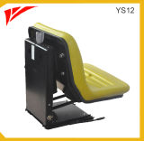Sospensione agricola Sedile del trattore in PVC giallo