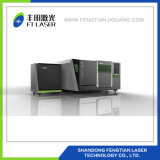 1000W fibras metálicas proteção total CNC corte a laser 4020
