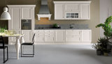 Furnierholz-Tür-hoher Glanz-Ende-Küche-Schrank