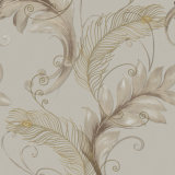 Mur Panel, Modern Design Wallpaper italien avec Big Leaves