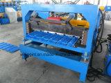 Machine de fabrication de carreaux de panneaux de toit en tôle d'acier populaire