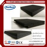 Scheda acustica del soffitto della fibra minerale nera dei materiali di Decortive