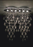 Phine K9 dekorative große moderne Kristalldeckenleuchte