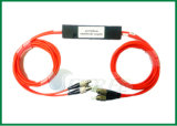 Acoplador de fibra óptica Fused 2X2 850nm Fbt Splitter Multimode