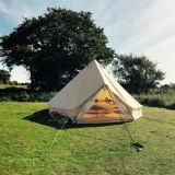 шатер колокола холстины Mildew 4m 5m напольный ся упорный для сбывания