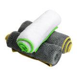 37*37cm Chiffon en microfibre ultra-doux serviette polonais de cire de voiture