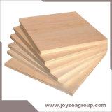 18mm con ambos lados de madera contrachapada de chapa de madera de abedul y los álamos Core