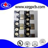 Placa de circuito impreso con negro máscara de soldadura y Enig