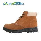 Brown-Stahlzehe-Schutzkappen-haltbare Sicherheits-Schuhe