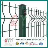 Recubierto de PVC mallas soldadas a la autopista valla valla de malla ferroviaria /