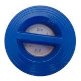 Válvula de verificação dobro do disco de 6 polegadas