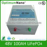 Batterie au lithium de la batterie 48V 125ah pour le système solaire
