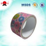 Bande estampée colorée adhésive d'emballage de qualité