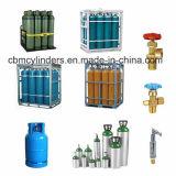 Cremagliera della bombola per gas dell'azoto dell'argon dell'ossigeno (cremagliera del gruppo della gabbia del contenitore)