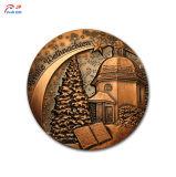 Personalizzare la medaglia del metallo di pallacanestro di placcatura di alta qualità