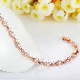 Armband van de Juwelen van de Vrouwen van Zircon van het Messing van het Koper van de Kwaliteit van Nice van de manier de Populaire