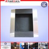 De Vervaardiging van het Metaal van het Blad van het Vakje van de Reclame van de Vertoning van het roestvrij staal