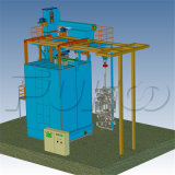 大きい鋳造の部品のための特別なオーバーヘッド柵のショットブラスト機械