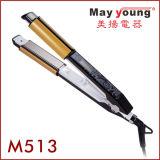 Lcd-Bildschirmanzeige 2 flachen dem Eisen in des Haar-1design und im Haar-flachen Eisen