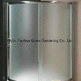 4-12mmの曇らされたガラスの浴室のシャワー室のための酸のエッチングガラス