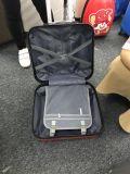 Bagagli di alluminio di viaggio d'affari dei bagagli del coperchio dei bagagli del carrello del computer portatile