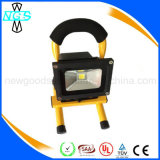 10W LED Floodlight Rechargeable avec prise et support USB