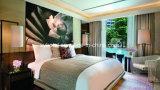Moderno y lujoso mobiliario para la habitación del hotel