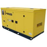 Dieselset des generator-15kVA mit leisem Typen obenliegender Kraftstofftank