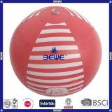 2016 наиболее востребованных дешевые надувной мяч на пляже ПВХ