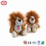 연약한 관례에 의하여 채워지는 장난감을 앉는 숲 야생 동물 사자 견면 벨벳
