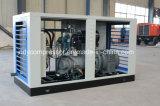 Compresores de aire refrescados aire de rosca de Oilless del uso de la industria