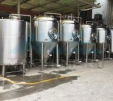 Sanitaire en acier inoxydable Dimple Jacketed bière Fermentation réservoir (ACE-FJG-2C)