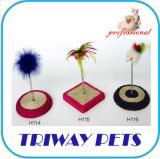 Jouet facile de chat de souris de peluche de difficulté (H114-H116)