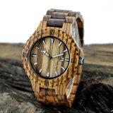 Nova proteção ambiental Japão Movimento Relógio de moda de madeira Bg323