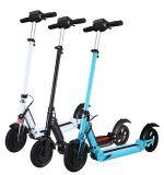 Motorino elettrico piegante di corsa della città della bici del motorino 35km/H del litio delle rotelle elettriche di potenza della batteria due