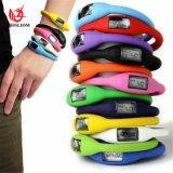メンズレディースLED安いイオン腕時計の日付のゴム製ブレスレットのデジタル腕時計#V907