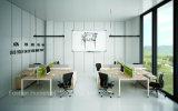 Poste de travail droit de bureau de bureau de personne moderne des meubles 4 (HF-BSP003)