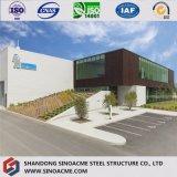 Entrepôt structural en acier préfabriqué galvanisé de construction au Brunei