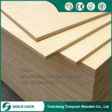 5mm de chapa de madera para muebles de madera contrachapada de lujo
