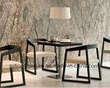 (SD-1005F) 직물 시트를 가진 북유럽 작풍 대중음식점 나무로 되는 식사 의자