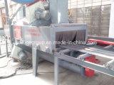 Limpieza de superficies de chapa de acero a través de la máquina de granallado