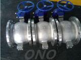 액추에이터 스테인리스 또는 탄소 강철 조정 공 벨브 플랜지