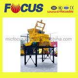 Mélangeur concret de double arbre horizontal, mélangeur Js750 concret avec le levage