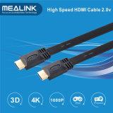 4k 3D unterstützte 1.4V flaches HDMI Kabel